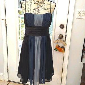 Women's Dress Size 10, Blue & black